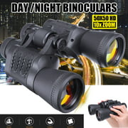 10X Zoom 5000m Distance 40x60mm Military Army Outdoor Hunting Camping Travel Match Binocular Telescope with Storage Bag