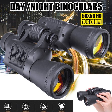 10X Zoom 5000m Distance 40x60mm Military Army Outdoor Hunting Camping Travel Match Folding Binocular with Storage Bag thumbnail