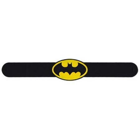 Wristband - DC Comics - Batman Oval Logo Slapbands slap-dc-0001