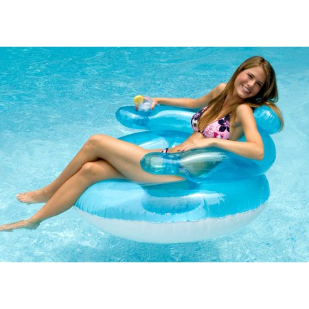 Bubble Chair Inflatable Swimming Pool Lounge Chair