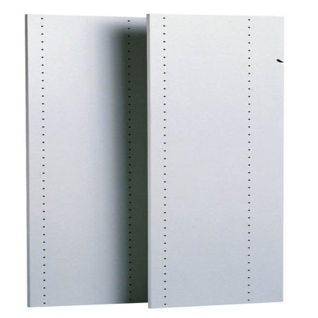 Easy Track Closet 2 Count 48 in. White Vertical Panels - RV1447