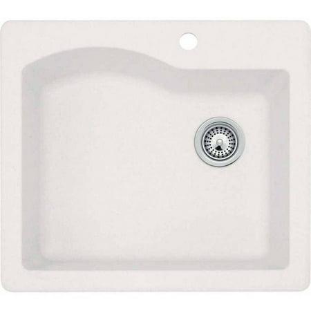 Kitchen Sink 25 X 22 Swan qzsb 2522 075 25 x 22 granite dual mount kitchen sink swan qzsb 2522 075 25 x 22 granite dual mount kitchen sink workwithnaturefo