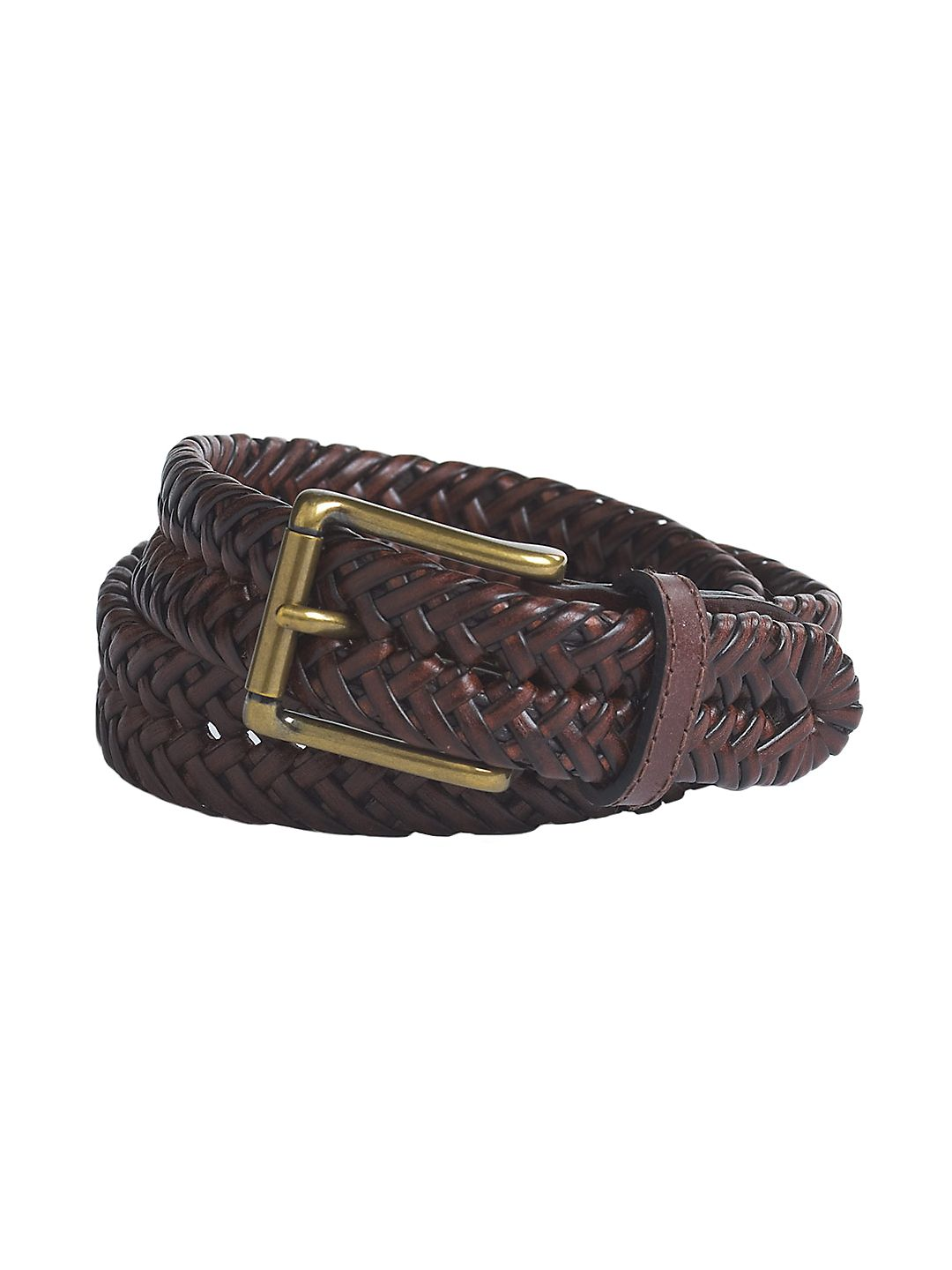 Boy's Braided Leather Belt