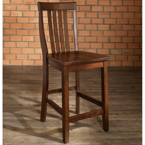 Crosley School House 24 in. Counter Stool - Set of 2
