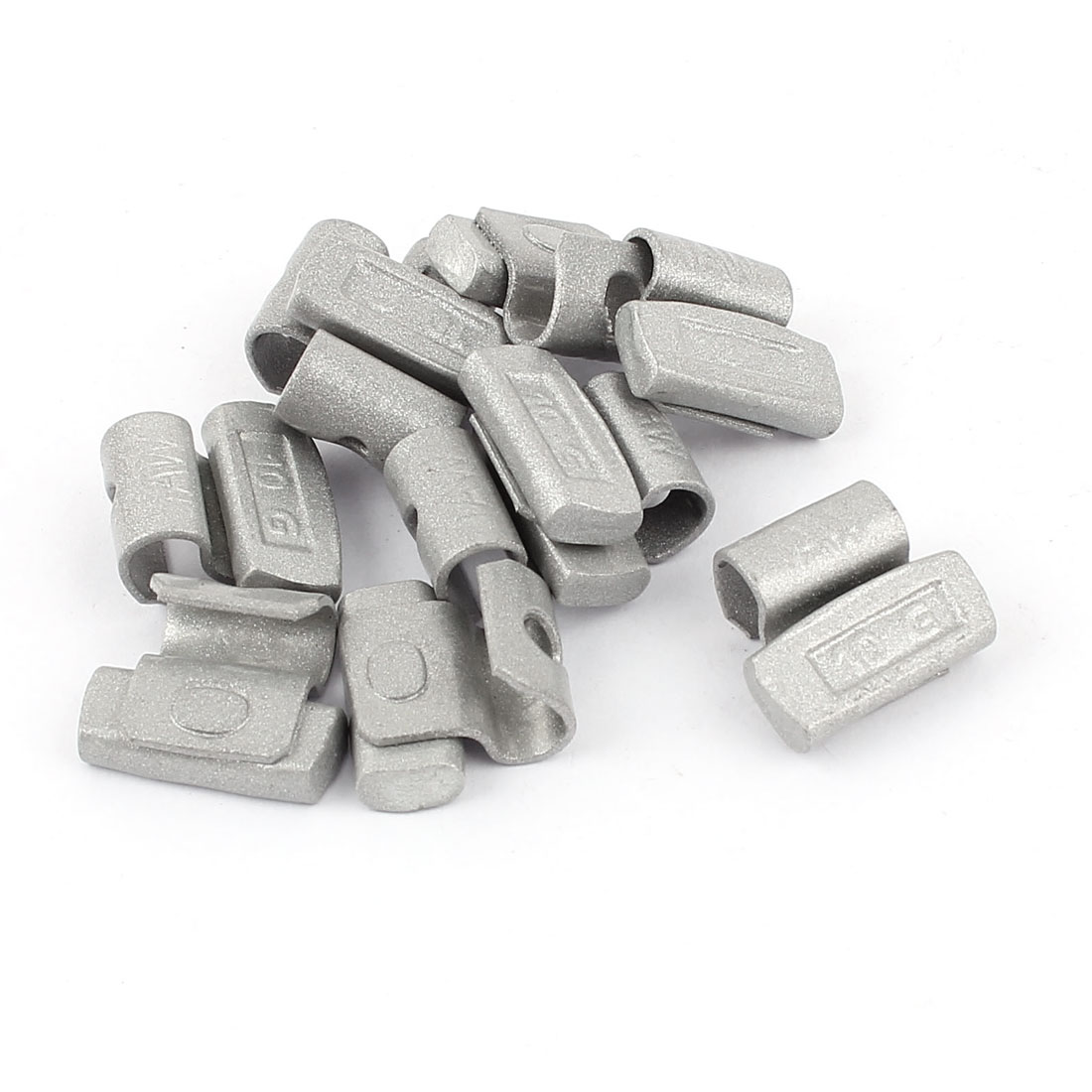 10 Pcs 10g Clip Tire Tyre Wheel Balance Weights for Car Alloy Rim