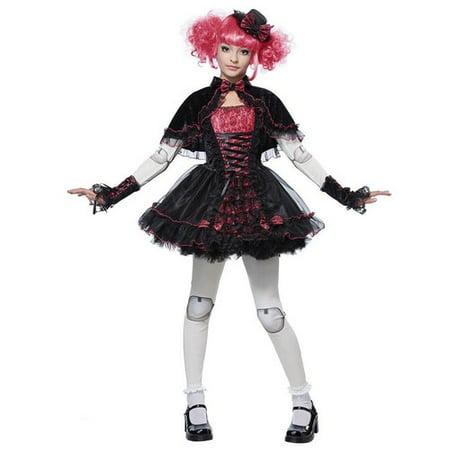 Victorian Doll Teen Halloween Costume](Victorian Halloween Costumes Women)