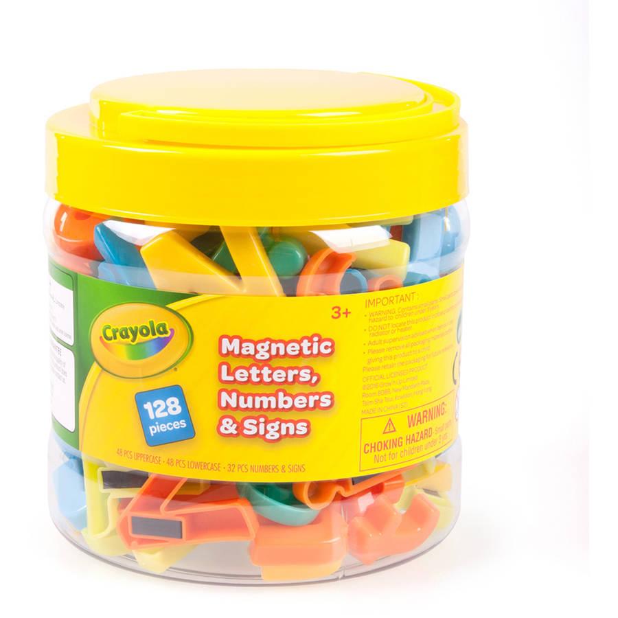 Crayola 128-Piece Letter Magnet Set by