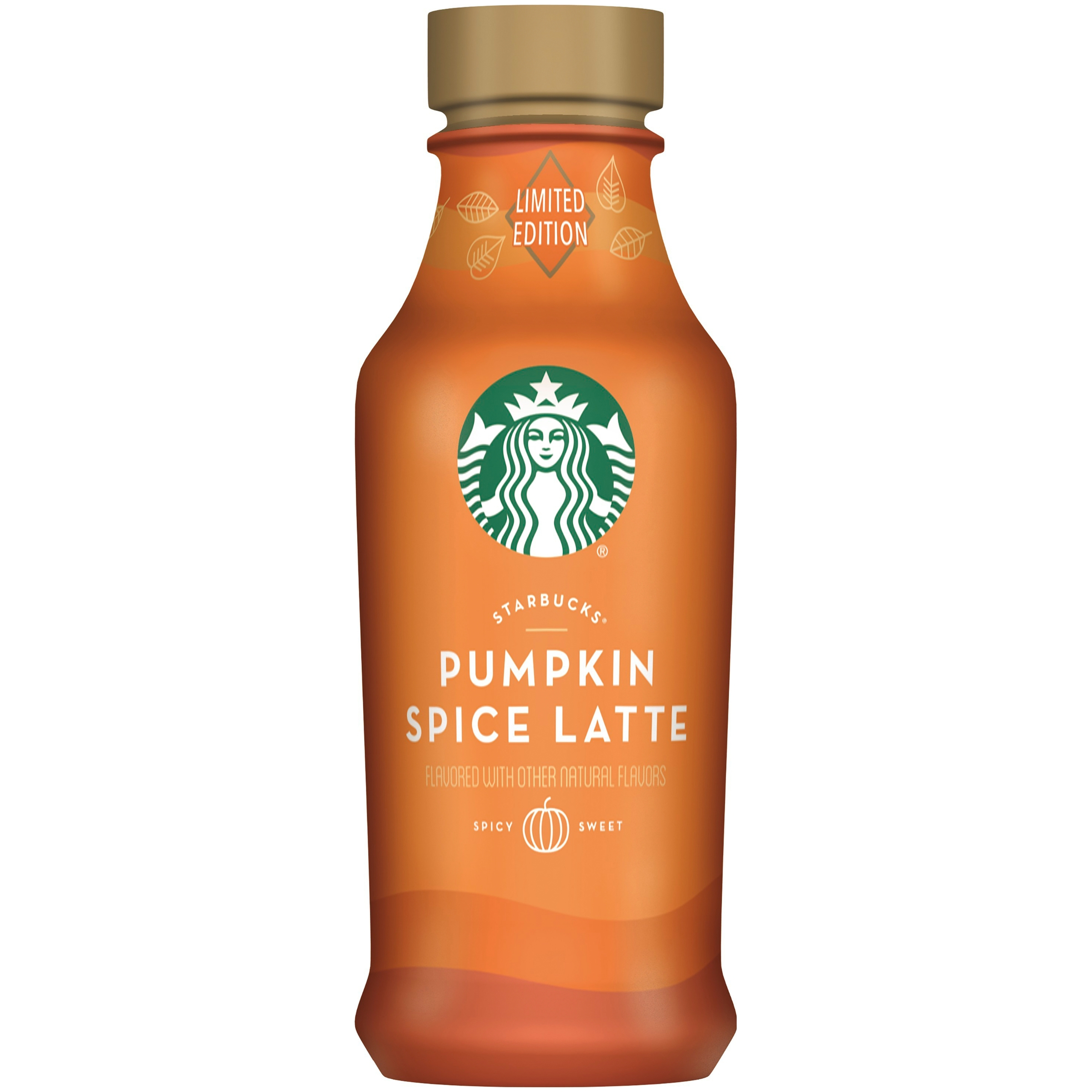 Starbucks Pumpkin Spice Latte Espresso Beverage 14 fl. oz. Bottle