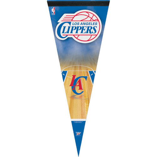 NBA - Los Angeles Clippers 12x30 Premium Pennant