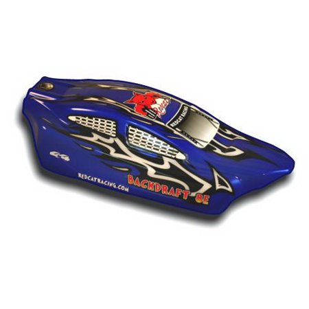 Redcat Racing BS803-003 1/8 Backdraft 8E Buggy Body Blue and