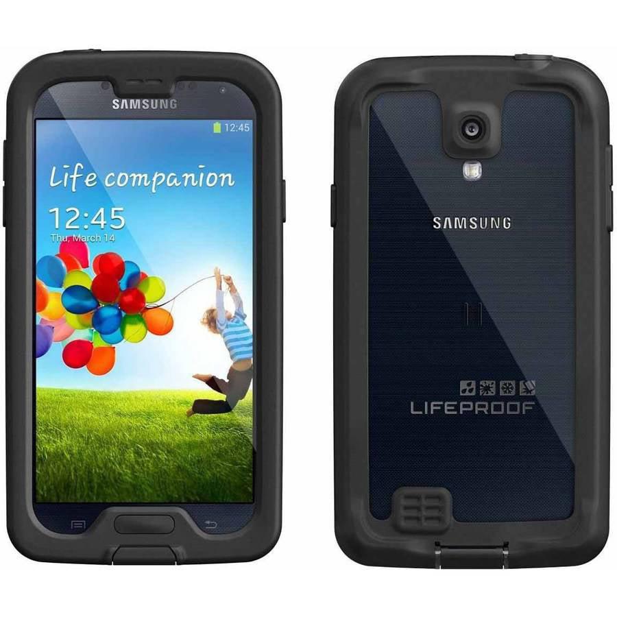 Samsung Galaxy S4 I9500 16GB GSM Smartphone and Lifeproof nuud Case (Unlocked)
