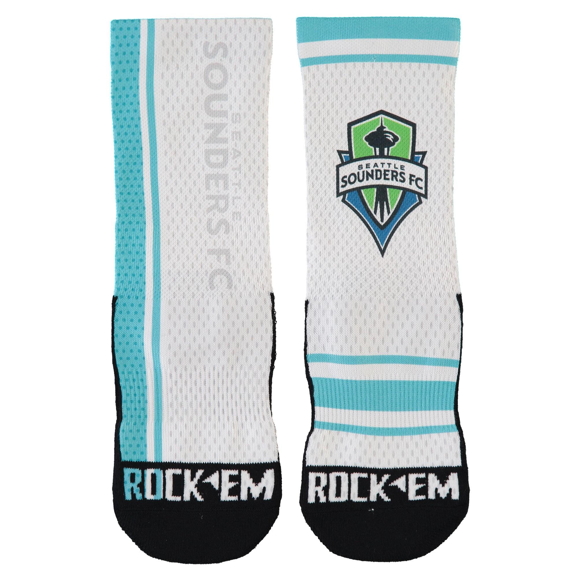 Seattle Sounders FC 2017 Jersey Match Up Shin Socks