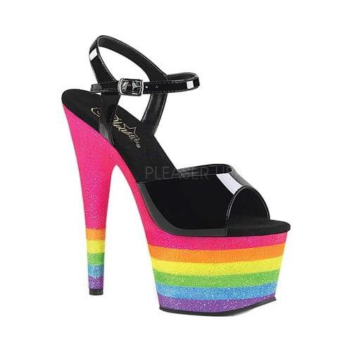 Women's Pleaser Adore 709UVRB Ankle Strap Sandal