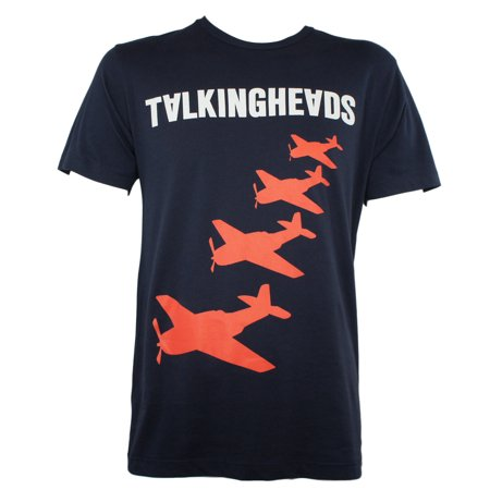 Talking Heads Mens Planes Slim Fit T-Shirt