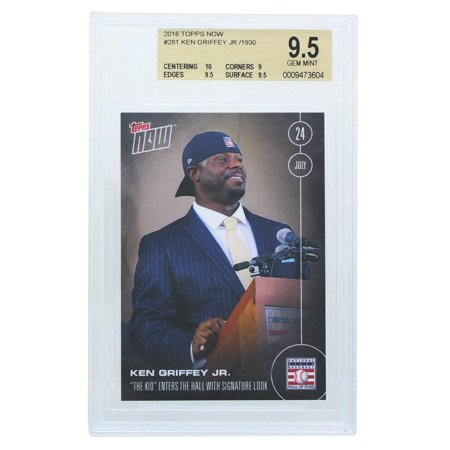 Topps NOW Hall of Fame Ken Griffey Jr. Card #281 BGS