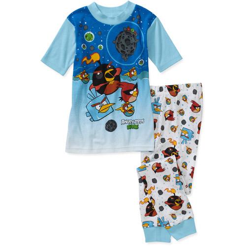 Rovio Angry Bird Boys 2 Piece Cotton Pajama Set