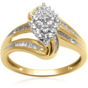 1/5 Carat T.W. Diamond 10kt Yellow Gold Fashion Ring