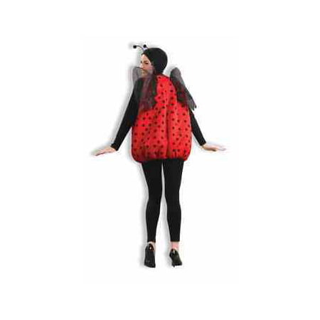 COSTUME-LADY BUG - Red Riding Hood Halloween Hair And Makeup