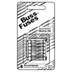 Bussman MKG6 Motorcycle Glass Fuse Assortment Contains Agx-5, (2)8, 10, 15 & 20 Amp Fuses Carded