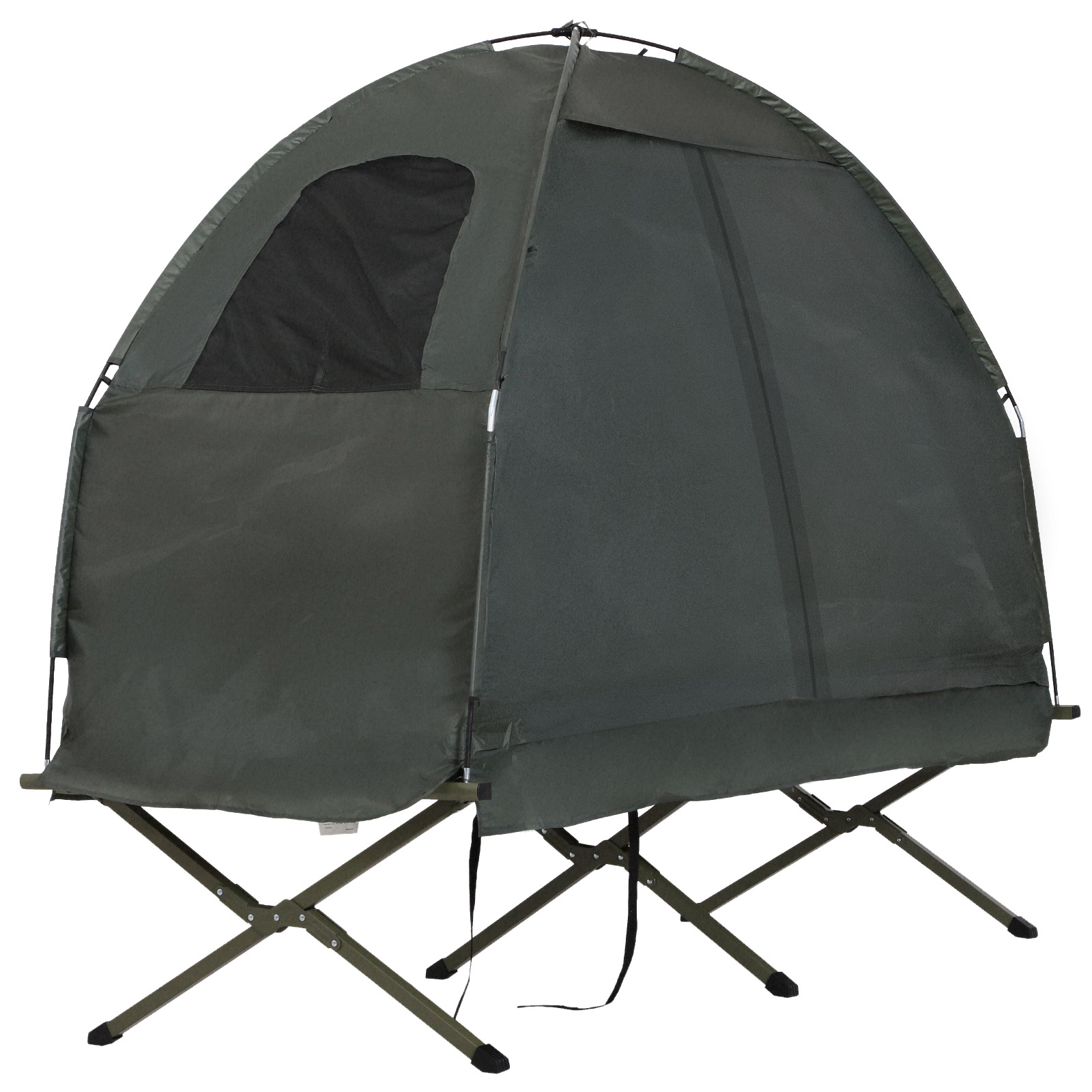 Outsunny 1 Person Compact Pop Up Portable Folding Outdoor ...
