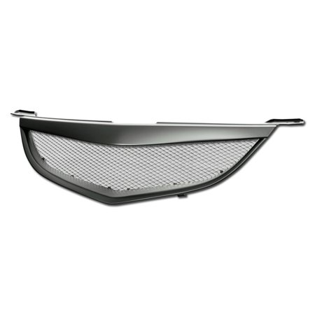 RL Concepts Matte Black Aluminum Mesh Front Hood Bumper Grill Grille 04-06 Mazda 3 Mazda3 4Dr MPN: MA1200172