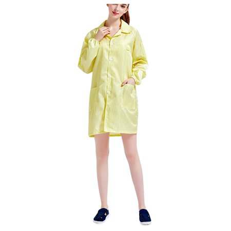 Static Electricity Halloween Costume (Tuscom Unisex Protective Suit Couple Models Of Anti-static Dust-Free Clothes)