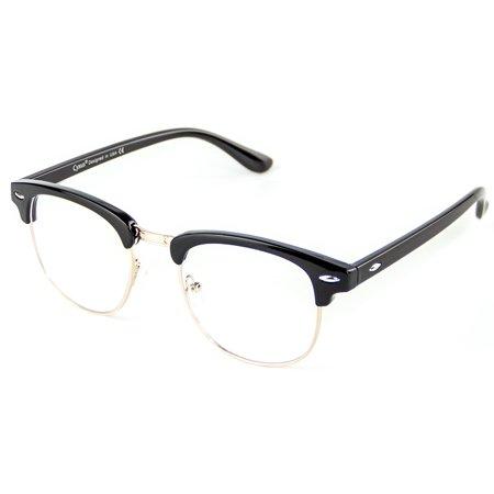 Cyxus Semi-Rimless Blue Light Filter Computer Gaming Glasses Anti Eyestrain Reading (Blue Light Filter Glasses Singapore)