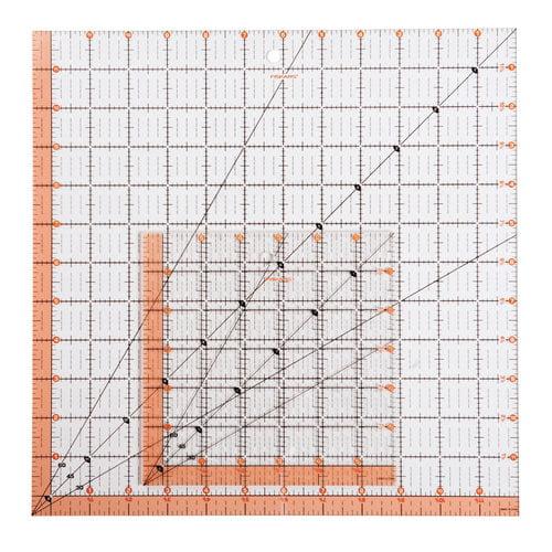Fiskars 2-Piece Ruler Set