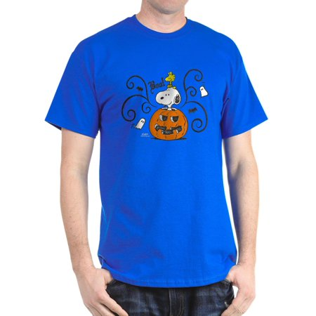 Peanuts Snoopy Sketch Pumpkin - 100% Cotton T-Shirt - Snoopy Great Pumpkin