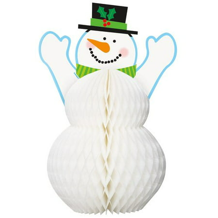 (6 pack) Snowman Holiday Centerpiece Decoration, 12 in ()