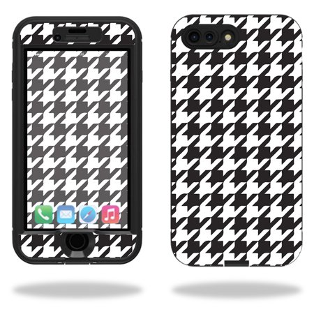 Skin For Lifeproof Nuud iPhone 7 Plus Case – Houndstooth | MightySkins Protective, Durable, and Unique Vinyl Decal wrap cover | Easy To Apply, Remove, and Change Styles | Made in the USA