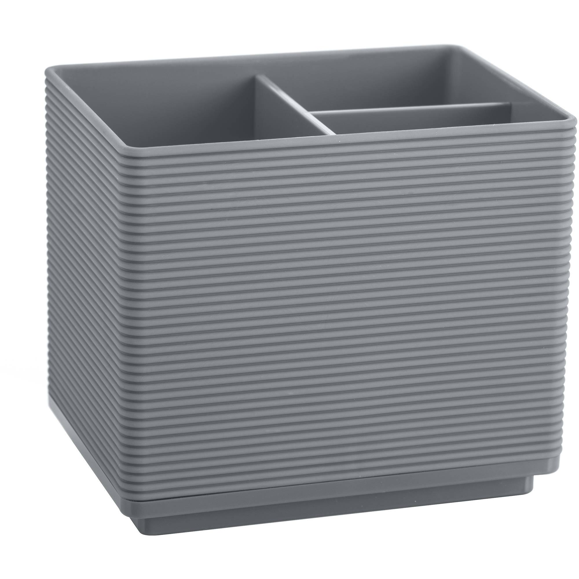 Mainstays Soft Touch Grey Organizer