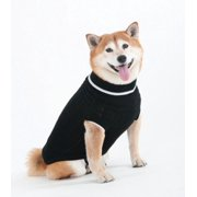 Ethical Products Fashion Pet 8BK-XS Acrylic Classic Full-Length Cable Dog Sweater, X-Small, Black
