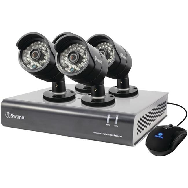 Swann SWDVK-444004-US 4-Channel 720p DVR with 4 720p PRO-A850 Cameras