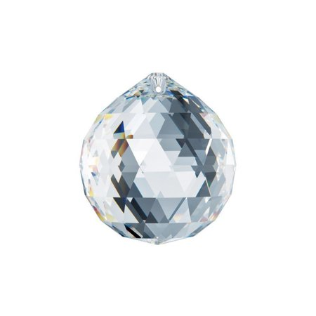 - Crystal Ball Faceted Prism Swarovski Spectra Austrian Crystal Lead Free Feing Shui (Size Available)