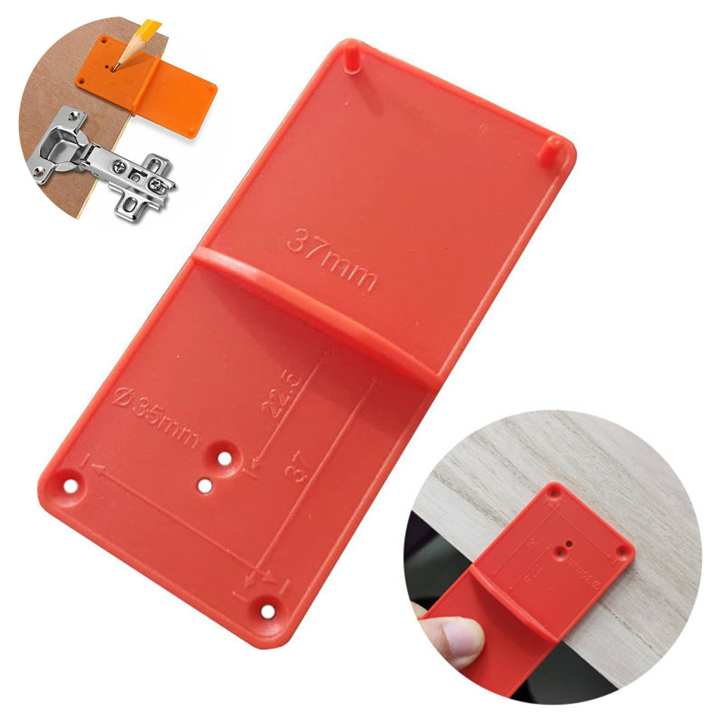 Details about  /90 Degree Drill Bit Guide Hole Puncher Locator Jig Hinged Woodworking Tools