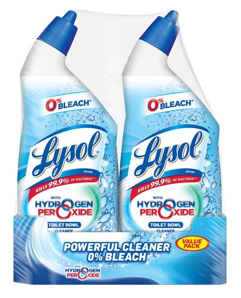 Lysol Bleach Free Toilet Bowl Cleaner 48oz 2x24oz W