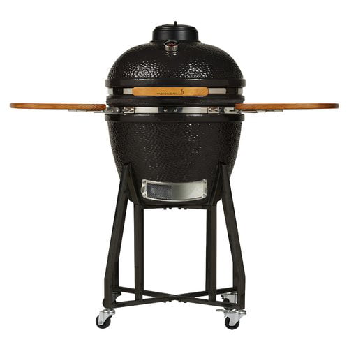 Vision Grills 22'' M Series Kamado Charcoal Grill with Smoker by Vision Grills