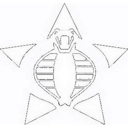 GI Joe Cobra Window Decal Sticker (Cobra Decal)