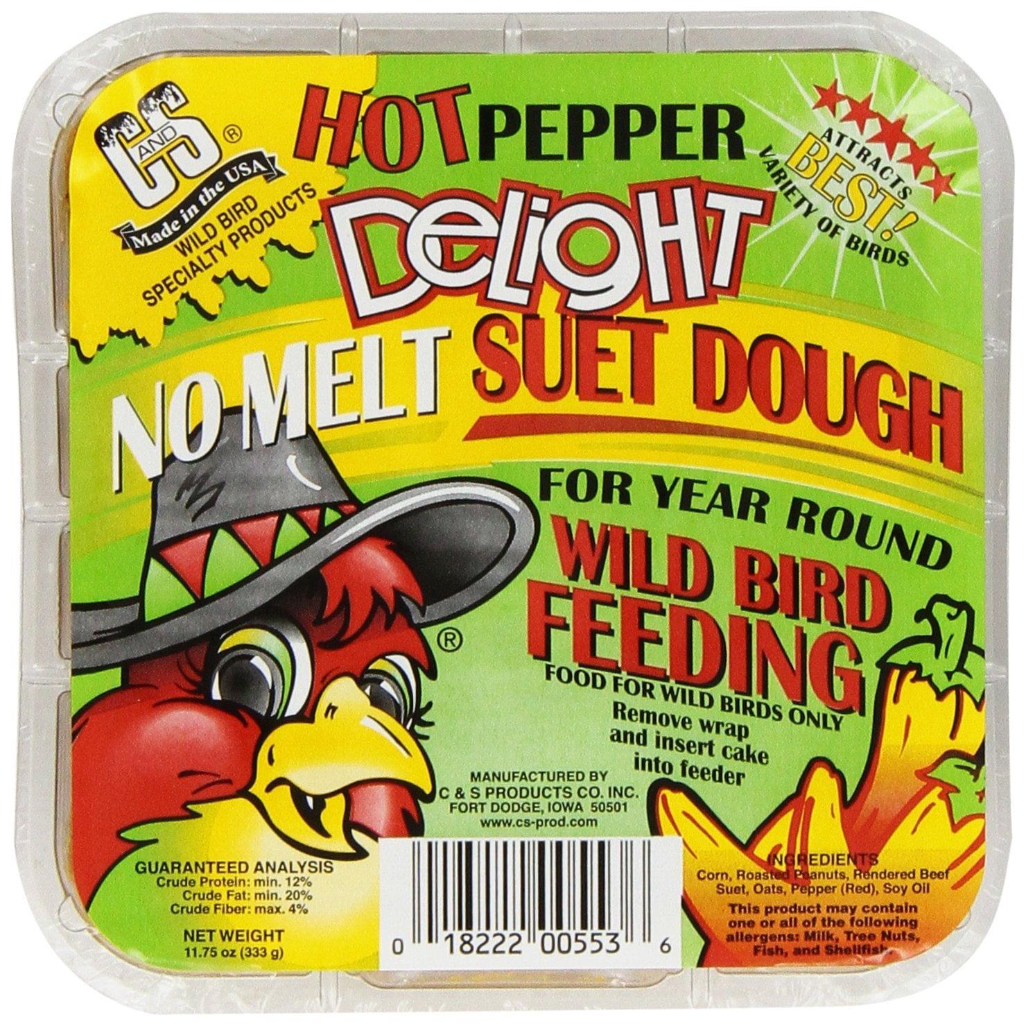 C S Technology Hot Pepper Delight 11.75 oz, 12-Piece