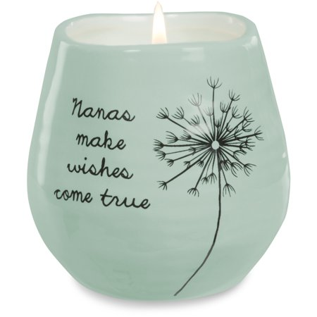 Pavilion - Nanas Make Wishes Come True Green Ceramic Soy Serenity Scented Candle