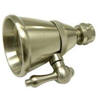 "Elements Of Design DK1328 Satin Nickel 2-1/4"" Brass Multi Function Shower Head"