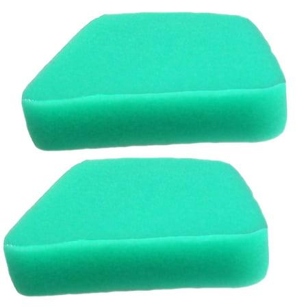 Oregon (2 Pack) Pre-Oiled Foam Air Filter For Craftsman 530037793 # 55-515-2PK