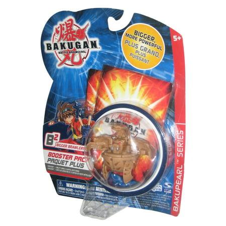 Bakugan Battle Brawlers Bakupearl Series Brown Booster Pack Toy ()