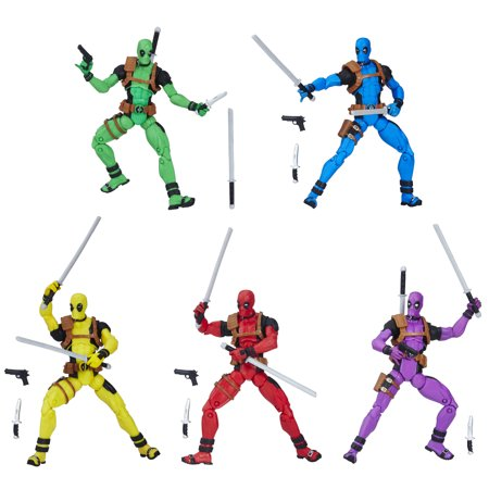 Marvel Legends Deadpool's Rainbow Squad 5-Pack