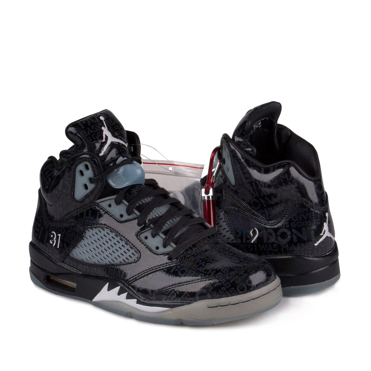 "Nike Mens Air Jordan 5 Retro DB ""Doernbecher"" Black/White..."