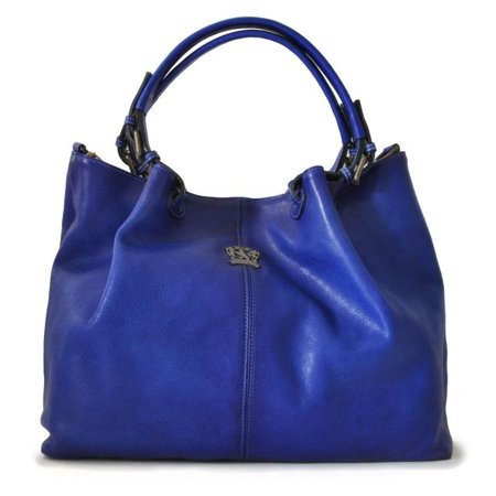 Pratesi Womens Italian Leather Collodi Woman Bag in Cow Leather