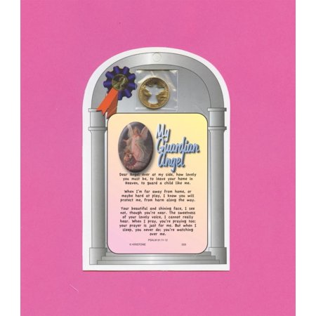 My Guardian Angel - Poem - Verse Card w/ Angel Cut-Out penny - sku 533