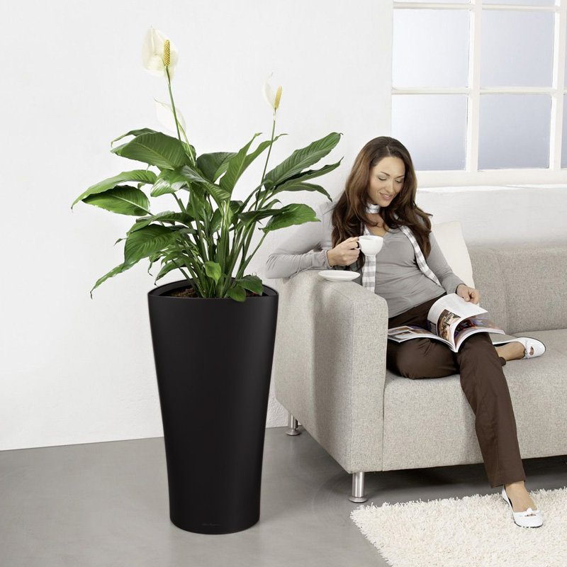 Lechuza Delta Self-Watering Indoor Planter