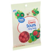 Great Value Cherry Sours Chewy Candy, 10 oz